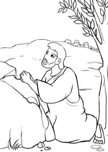 Agonía de Jesús en el huerto de los olivos