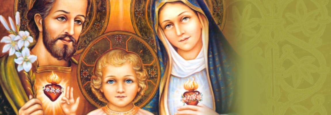 El ejemplo de la Sagrada Familia